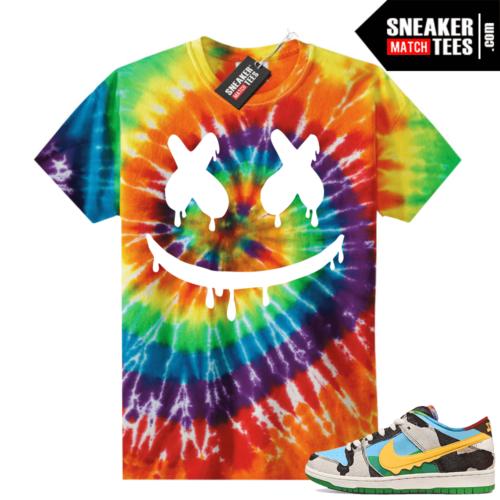 Chunky Dunky Nike Dunks Tie-Dye Shirts Smiley Drip