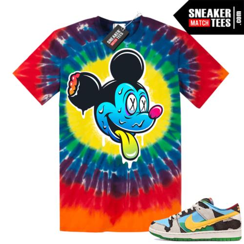 Chunky Dunky Nike Dunks Tie-Dye Shirts Trippy Mickey