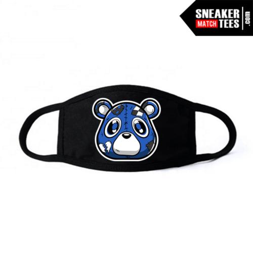 Face Mask Black Royal Toe 1s Heartless Bear