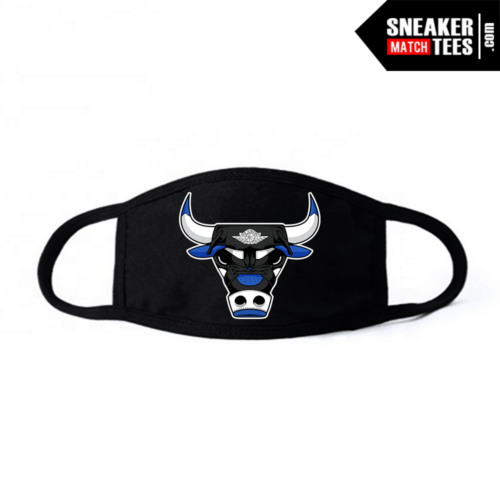 Face Mask Black Royal Toe 1s Rare Air Bull