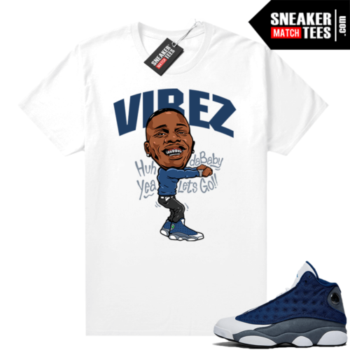 Flint 13s Graphic Tees Dababy Vibez