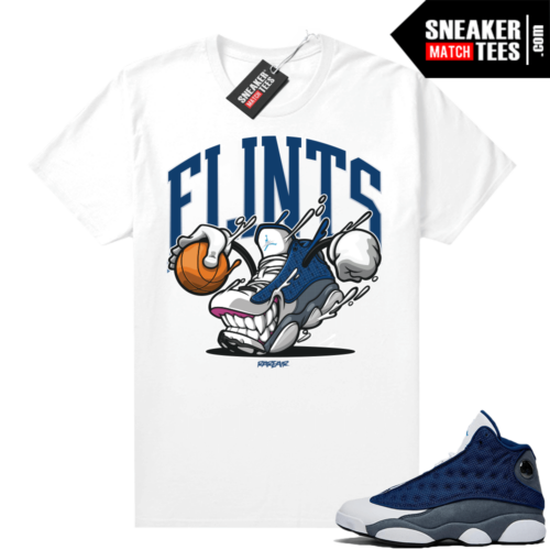 Flint 13s Graphic Tees FLINTS fly Kicks