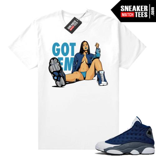 Flint 13s shirt outfit