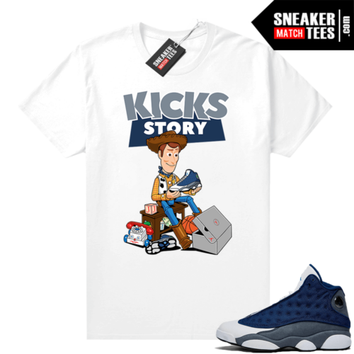 Flint 13s Graphic Tees Kicks Story