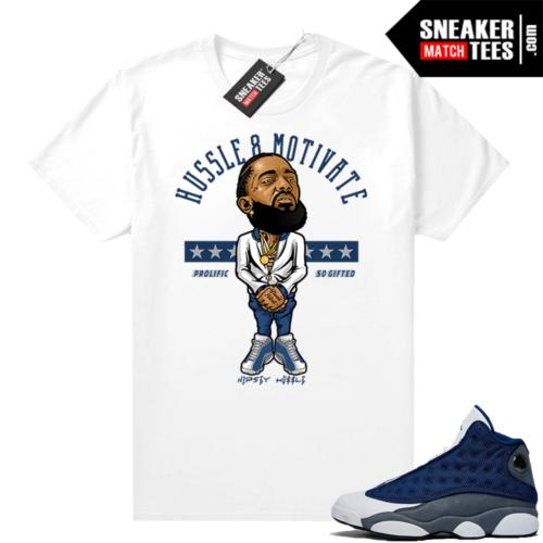 Flint 13s Jordan Sneaker tees