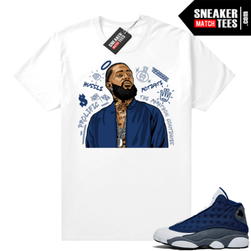 Flint 13s Graphic Tees Nipsey Tribute