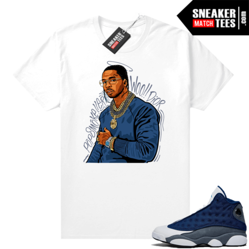 Flint 13s Graphic Tees Pop Smoke Tribute