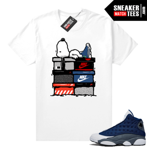 Flint 13s Jordan match tees