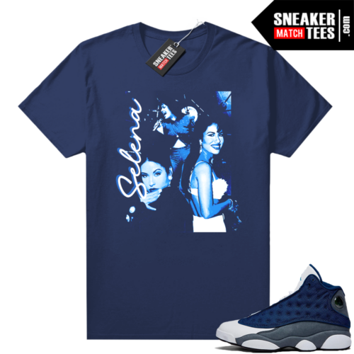 Flint 13s Jordan sneaker tees Selena Vintage Concert Tee