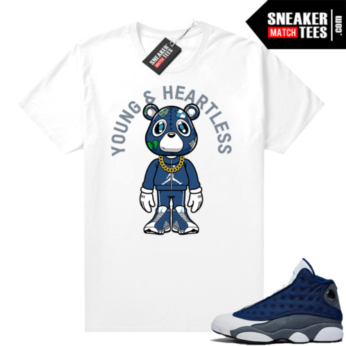 Flint 13s Jordan sneaker tees Young & Heartless Bear Toon