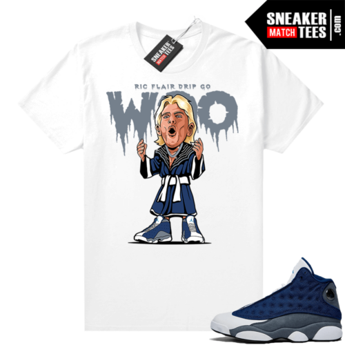 Flint 13s Sneaker Match Tees Ric Flair Drip