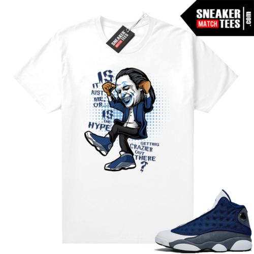 Flint 13s Sneaker shirt outfit Crazy Hype
