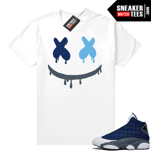 Flint 13s Sneaker shirt outfit Smiley Drip