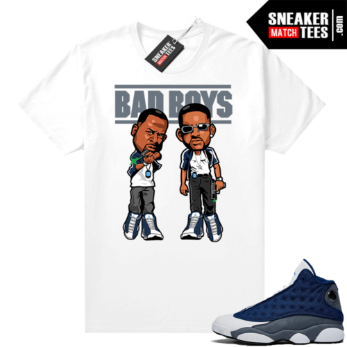 Flint 13s Sneaker shirts Bad Boys