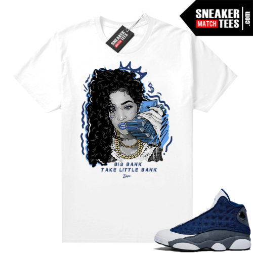Flint 13s Sneaker shirts Big Bank