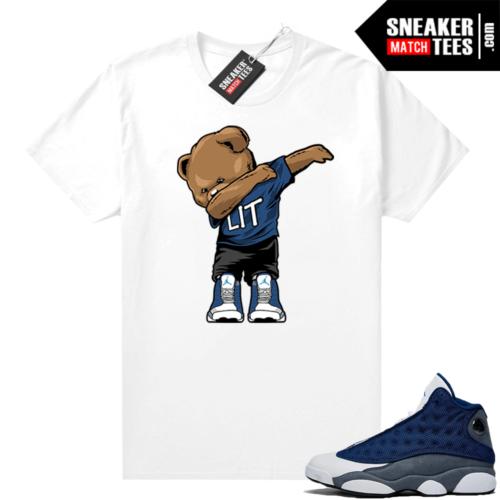 Flint 13s Sneaker shirts Dabbin Bear