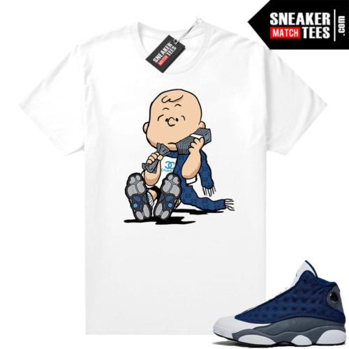 Flint 13s Sneaker shirts Designer Charlie