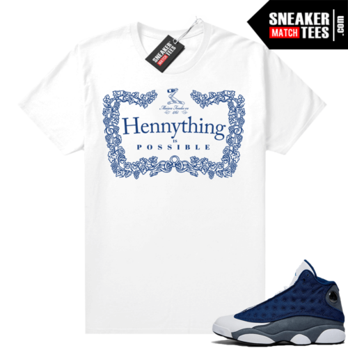 Flint 13s Sneaker shirts Hennything