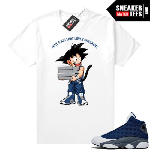 Flint 13s Sneaker shirts Just A Kid