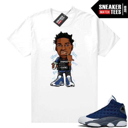 Flint 13s Sneaker shirts Kodak Glee