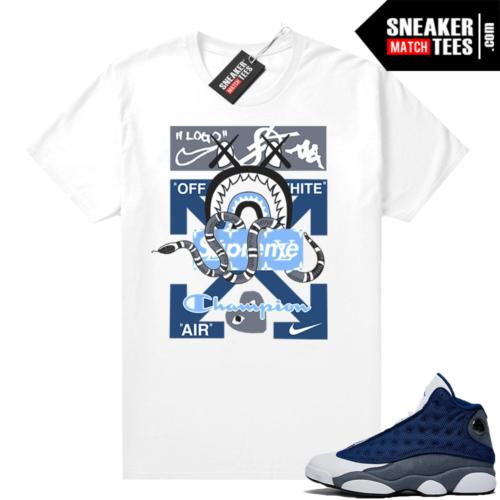 Flint 13s Sneaker shirts Mashup