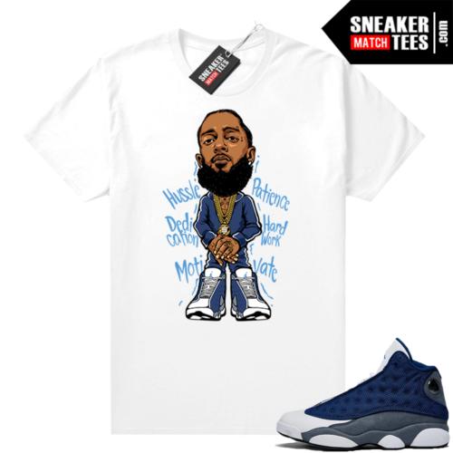 Flint 13s Sneaker shirts Nipsey Hussle