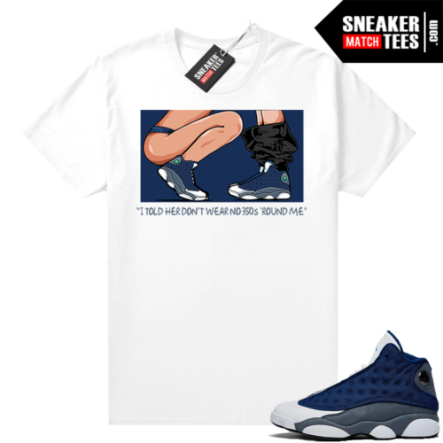 Flint 13s Sneaker shirts No 350s