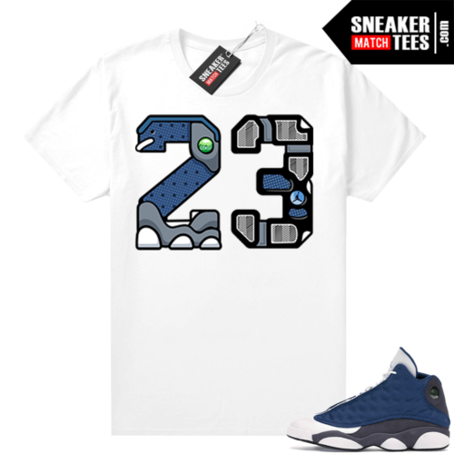 Flint 13s Sneaker tees 23