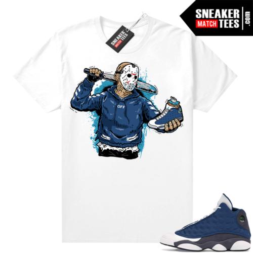 Flint 13s Sneaker tees Jason 13s