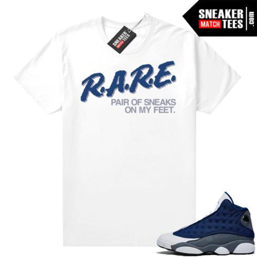 Flint 13s Sneaker tees Rare Pair