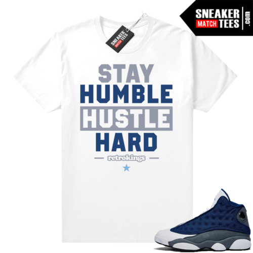 Flint 13s Sneaker tees Stay Humble