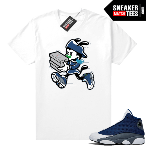 Flint 13s sneaker tees Double up