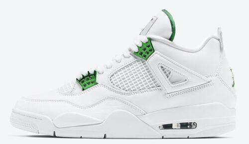 Jordan release dates May Jordan 4 Metallic Green