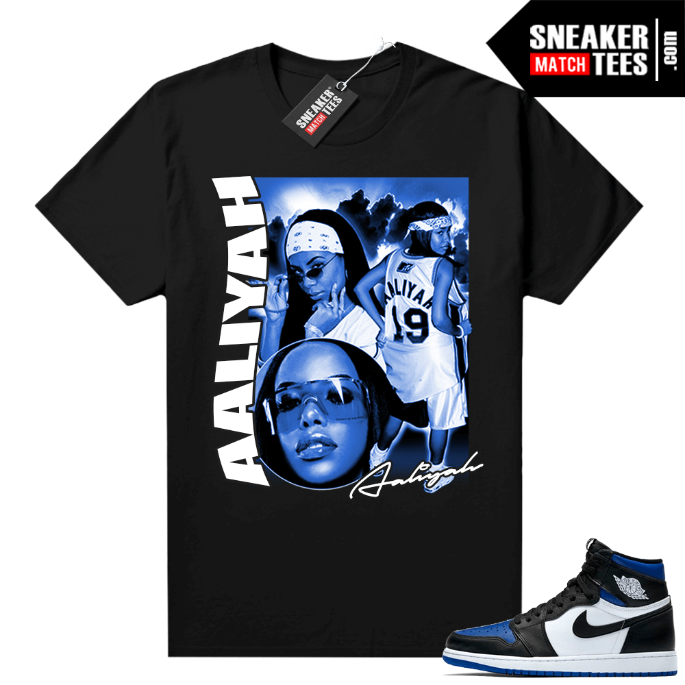 Royal Toe 1s graphic tees Aliyah Vintage Rap Tee
