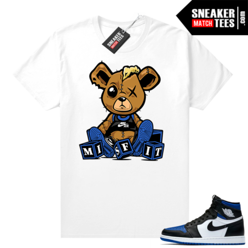 Royal Toe 1s graphic tees Misfit Teddy
