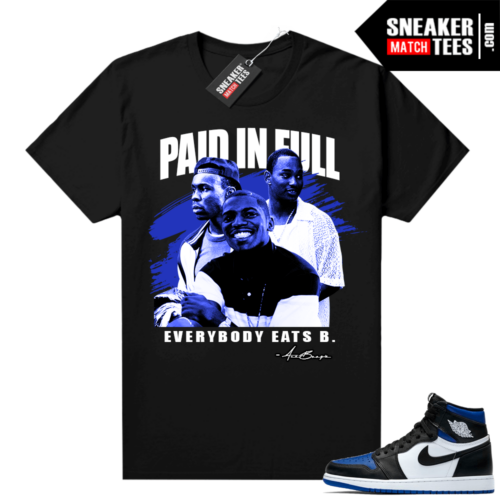 Royal Toe 1s graphic tees Paid In Full Vintage