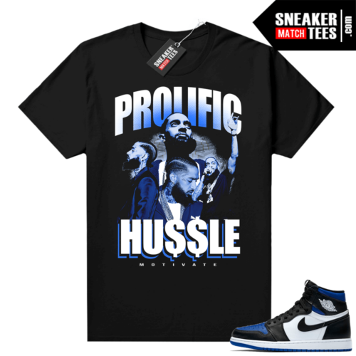 Royal Toe 1s graphic tees Prolific Nipsey Vintage Rap