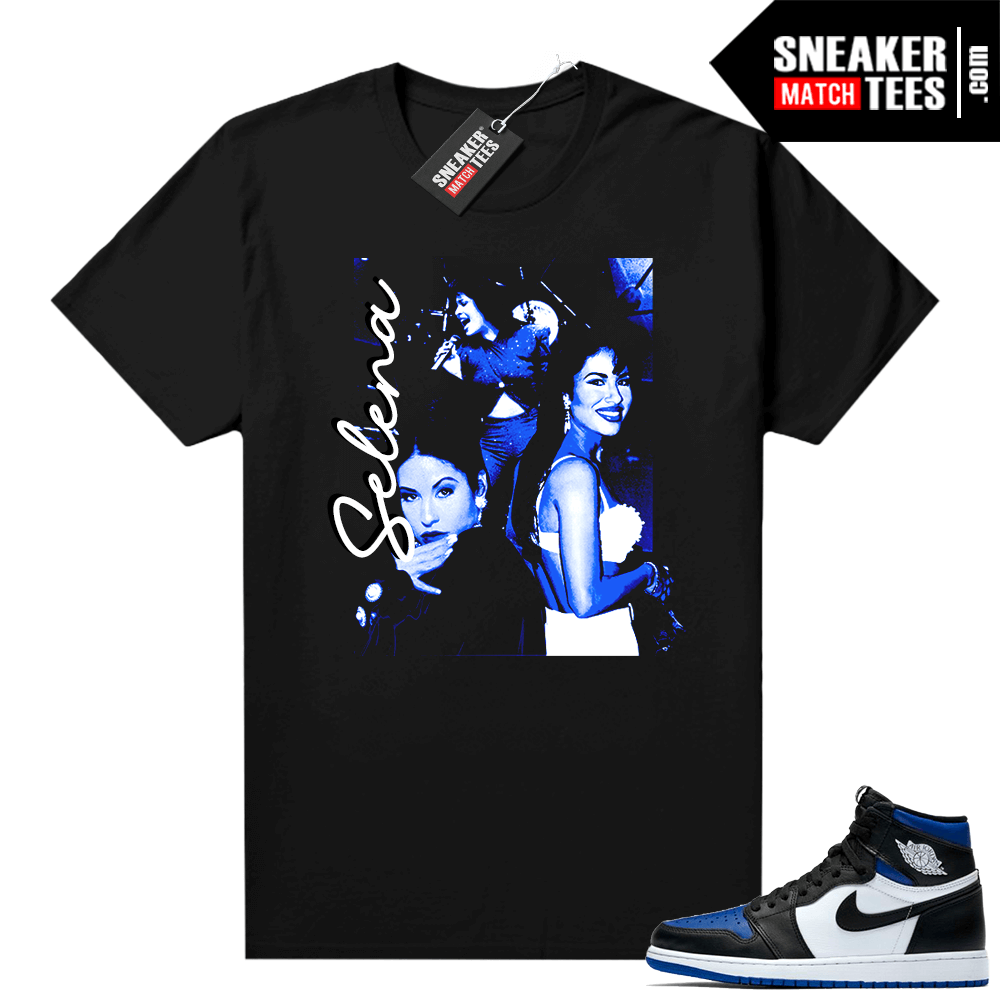 Royal Toe 1s graphic tees Vintage Selena