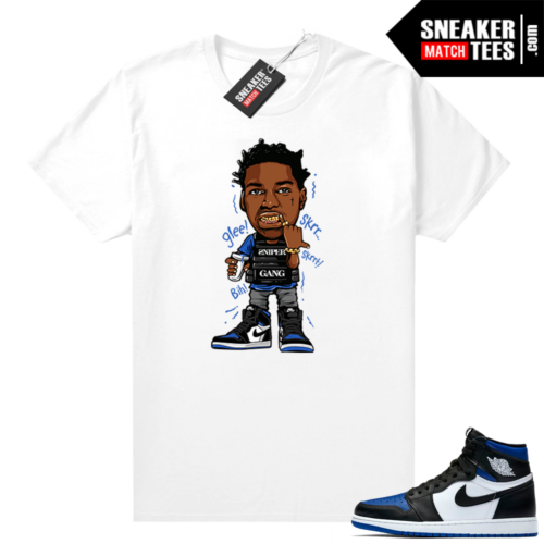 Royal Toe 1s sneaker tees Kodak Glee