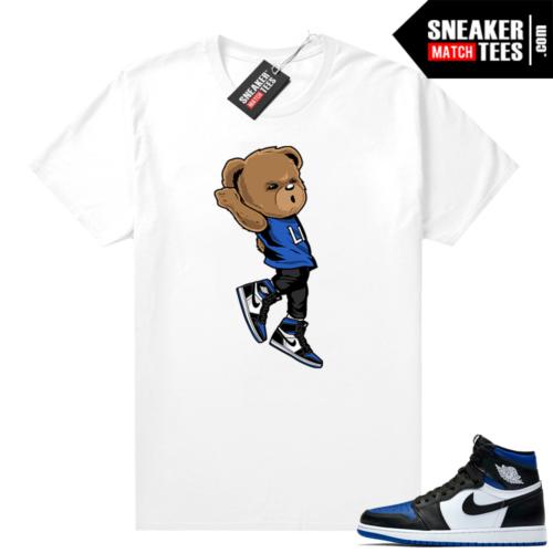 Royal Toe 1s sneaker tees Shooting Bear