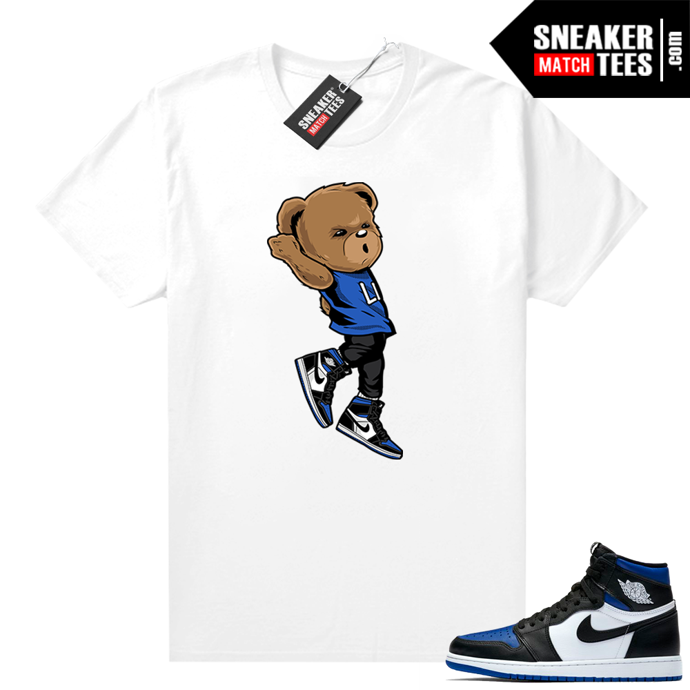 Royal Toe 1s sneaker tees Shooting Bear