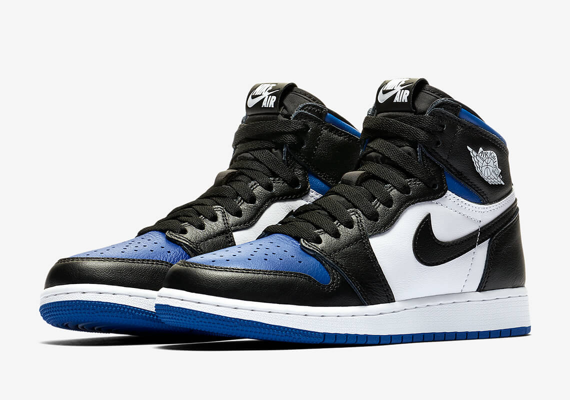 Royal toe 1s Jordan Graphic Tees
