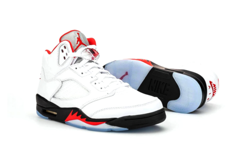 Sneaker Tees Fire Red 5s Collection (1)