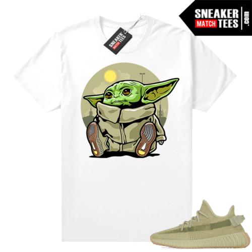 Sulfur 350 Yeezy Shirt Baby Yoda