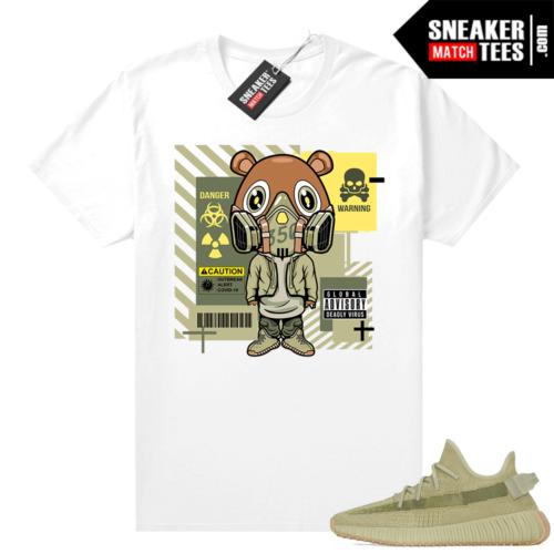 Sulfur 350 Yeezy Shirt Gas Mask Bear Covid 19