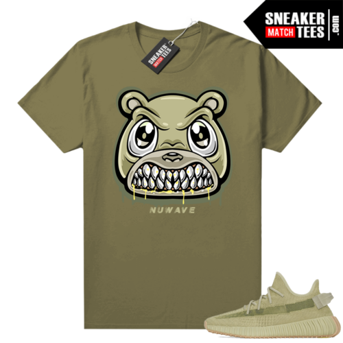 Sulfur 350 Yeezy Shirt Olive Angry bear
