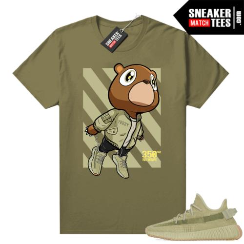 Sulfur 350 Yeezy Shirt Olive Bear Boost 350