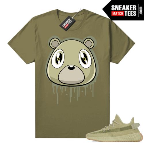 Sulfur 350 Yeezy Shirt Olive Bear Drip