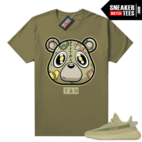 Sulfur 350 Yeezy Shirt Olive Heartless Bear