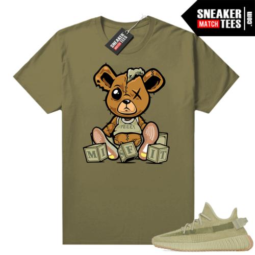 Sulfur 350 Yeezy Shirt Olive Misfit Teddy